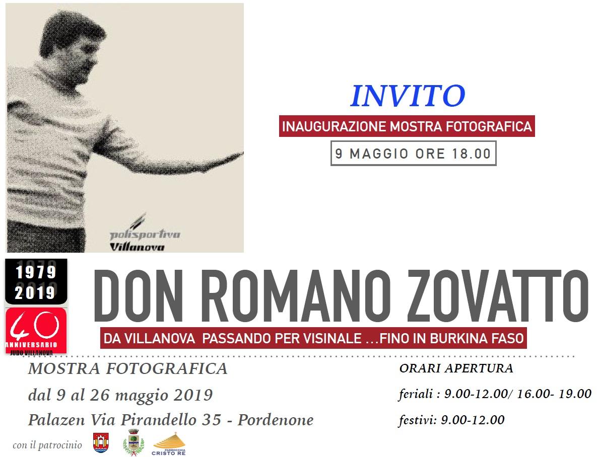 Mostra fotografica Don Romano